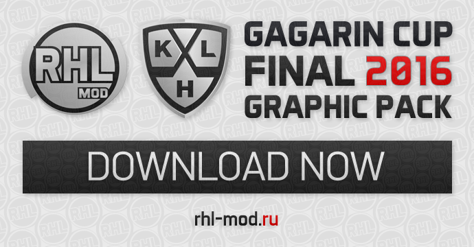 Gagarin Cup 2016 Graphic Pack